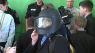 Для учнів 30 школи правоохоронці провели урок мужності