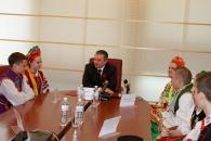 В кабінет вінницького мера завітали діти із Запоріжжя, Дніпропетровська, Рівного, Польщі та Молдови