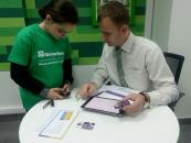 120 вінницьких школярів шукали гроші у ПриватБанку