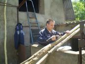 У Могилів-Подільському районі дільничний допомагає родині учасника АТО