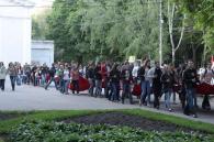 У Вінниці відбулася хода до Дня пам'яті людей, які померли від СНІДу