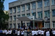 """На честь загиблого """"кіборга"""" Леоніда Шевчука у школі №10 відкрили меморіальну дошку"""