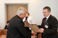 Сьогодні мерія відзначила підприємців, які допомогли організувати День Європи у Вінниці