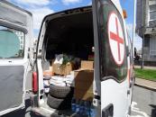 Разом з черговим гуманітарним вантажем на Схід передали гроші від вінницького випускника, який відмовився йти на випускний вечір