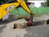 На П'ятничанах завершується реалізація ще одного масштабного проекту з каналізування приватного сектору