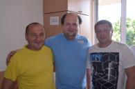 Бійці АТО та лікарі військового госпіталю отримали від Віктора Бронюка квитки на завтрашній концерт