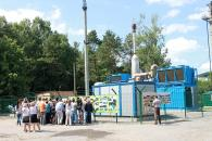 Вінничани разом з гостями з різних міст побували на екскурсії у котельні та на сміттєсортувальній станції
