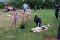 Вінницькі рятувальники розпочали профілактичні рейди по міським пляжам