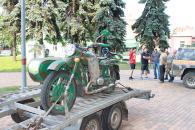 З Вінниці на Схід відправили мотоцикл та шість тон продуктів харчування
