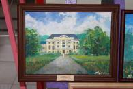 Картини з відомими будівлями Вінниці можна побачити у холі міської ради