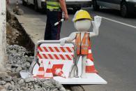 Креатив від в.о. мера Сергія Моргунова – новий буферний знак для попередження про ремонтні роботи