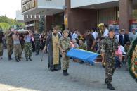 Сьогодні Вінниця прощалась із 48-річним розвідником Валерієм Трофимчуком, який загинув у Майорську