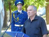 На вінницькій Алеї Слави відкрили погруддя загиблих Героїв України Костянтина Могилка та Дмитра Майбороди