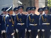 День Прапора Вінниця відзначила підняттям головного символа держави на головній площі міста