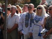 У Вінниці відкрили мультимедійну Стелу Пам'яті землякам-героям, які загинули в АТО та під час Революції Гідності