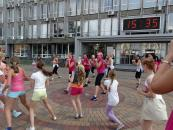 Близько сотні вінничан взяло участь у спортивних танцях на майдані Незалежності