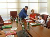 В.о. міського голови Сергій Моргунов зустрівся з майбутніми першокласниками