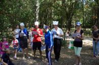 Під час благодійної акції «Підготуємо школяра до школи» дітям подарували шкільні набори та влаштували вікторину