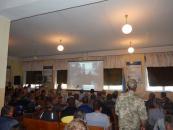 Бійці загону територіальної оборони Козятинщини склали Військову присягу на вірність українському народові