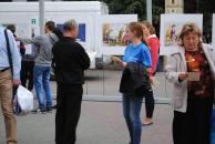 На Європейській площі відкрилася Міжнародна виставка політичної карикатури