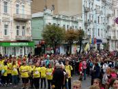 День фізичної культури та спорту та благодійний пробіг зібрав на центральній вулиці міста майже шість тисяч вінничан