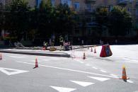 У Вінниці триває капітальний ремонт перехресть на вулиці Гоголя та на Сабарівському шосе