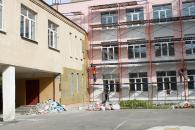 У Вінниці утеплюють фасад школи №25