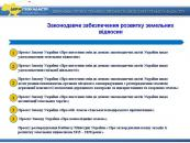 Максим Мартинюк презентував на засіданні КабМіну пакет реформ щодо розвитку земельних відносин в Україні