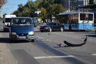 """ДТП на Келецькій: водій """"Ауді"""" не пропустив пожежну машину, яка їхала на виклик"""