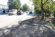 Після реконструкції по Скалецького з'явиться нова тролейбусна зупинка та велосипедна доріжка