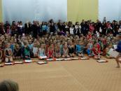 У турнірі з художньої гімнастики «Sharm 2015» взяли участь більше 300 дівчат