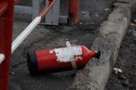 """Біля Західного автовокзалу загорілась """"Газель"""""""