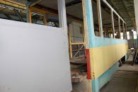 Працівники Вінницької транспортної компанії почали будувати другий «трамвай майбутнього»
