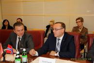 Норвегія має наміри допомогти Донецькому національному університету укорінитись у Вінниці
