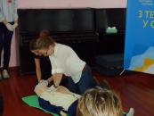 Під патронатом Дружини Президента Марини Порошенко у вінницьких школах розпочалися навчання з надання домедичної допомоги