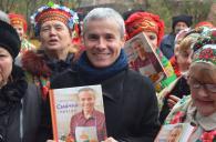 Телеведучий Костя Грубич презентував у Вінниці кулінарну книгу