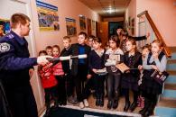 У підлітковому клубі «Гараж 77» маленьких вінничан навчали правилам дорожнього руху