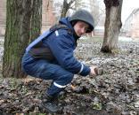 У сквері на Червоноармійській вінничанин знайшов артилерійський снаряд