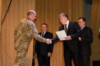 Сьогодні вінницькі військові приймали вітання з нагоди Дня Збройних Сил України