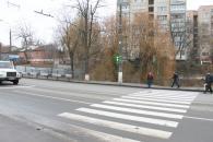 На перехресті вулиць Чорновола та Громова встановили світлофор