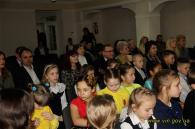 Педагогічний колектив та учнів навчально-виховного комплексу св. Миколая привітали зі святами