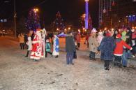 Олександр Теренчук знову побував в ролі вінницького Діда Мороза