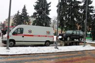 Сьогодні з Вінниці на Схід відправили відремонтований позашляховик, який айдарівці відвоювали у сепаратистів