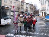 Вінницький Терцентр організував парад колядок та щедрівок «Благодійна коляда»
