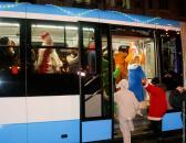 Дід Мороз поїхав на трамвайчику VinWay, щоб повернутись через 11 місяців