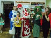 У центральній бібліотеці для дітей та юнацтва нагородили переможців конкурсу «Новорічно-різдвяний вернісаж»