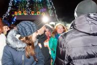 Вчора ввечорі відбулося урочисте закриття новорічної ялинки