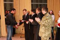 У Вінниці кіборгів нагородили медалями «За оборону Донецького аеропорту»