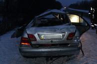 """Неподалік Вінниці у ДТП загинув водій """"Мерседеса"""", пасажир іномарки у важкому стані"""