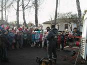 В Тульчині рятувальники провели навчання школярів безпечної поведінки у побуті
